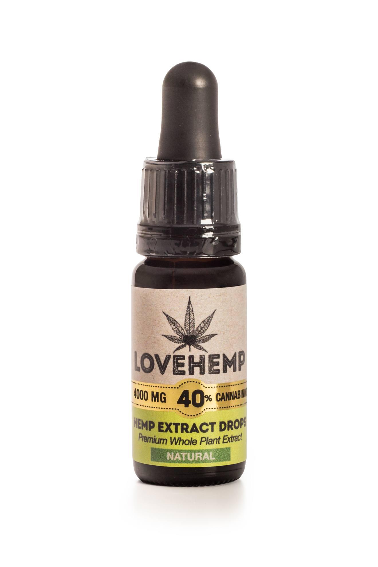 λάδι κανναβιδιόλης 40% Lovehemp
