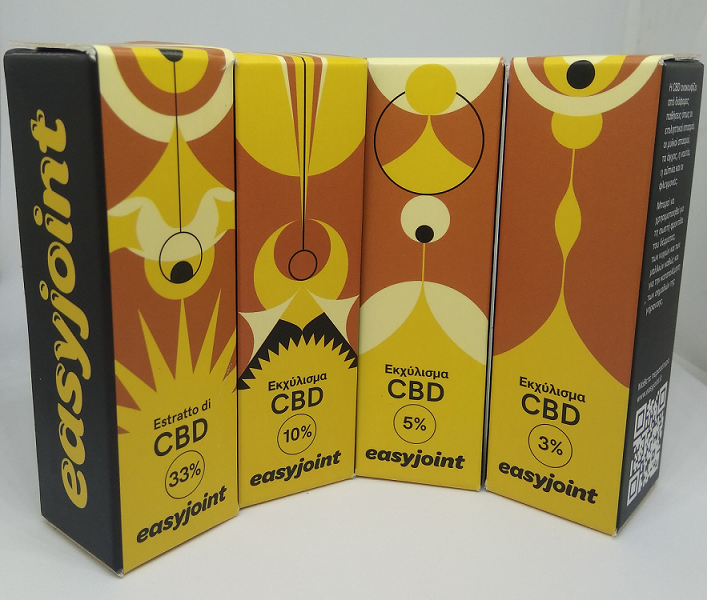 easyjoint CBD oils collection