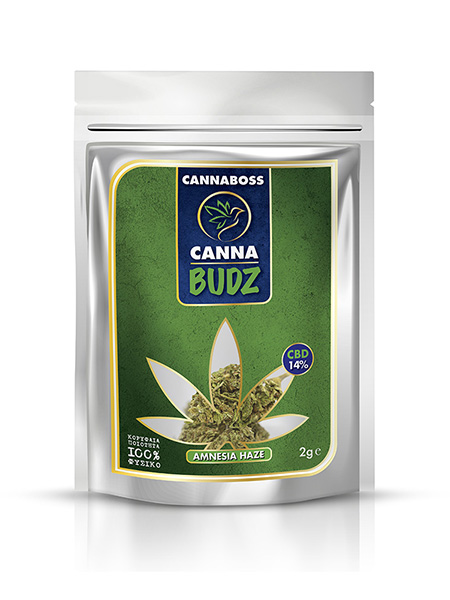 CBD 14% ανθοι κανναβης Amnesia Haze