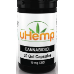 uHemp CBD oil capsules | KANNA+